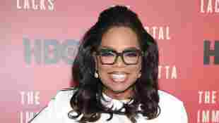 Oprah Winfrey attends 'The Immortal Life of Henrietta Lacks' premiere in 2017.