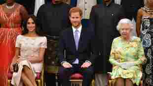 Prince Harry And Meghan Arranging To Meet The Queen Elizabeth In UK introduce daughter Lilibet christening baptism royal family news 2021