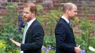 Prince William & Harry: What Body Language Experts Saw At Princess Diana Statue Unveiling photos pictures analysis breakdown summary 2021 royal family news