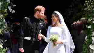 Quiz: Prince Harry and Meghan's Royal Wedding trivia questions facts dress date anniversary location royal family best man maid of honour