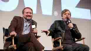 Rian Johnson and Mark Hamill at SXSW 2018 for 'Star Wars: The Last Jedi'.