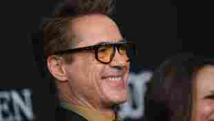 """Robert Downey Jr. arrives for the World premiere of Marvel Studios' """"Avengers: Endgame"""" at the Los Angeles Convention Center on April 22, 2019 in Los Angeles"""