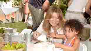 Ellen Pompeo y su hija