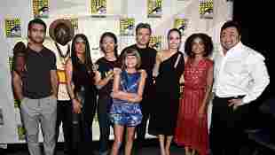 'The Eternals' Movie Will Feature Marvel's First LGBTQ Kiss Bryan Tyree Henry Haaz Sleiman