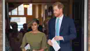 This Is The Tradition Meghan and Harry Will Break At Lilibet's Baptism christening royal family baby gown dress garment rule 2021 news