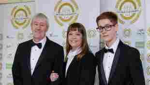 Nicholas Lyndhurst, Lucy Smith and Archie Lyndhurst