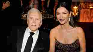 Catherine Zeta-Jones Reacts to Father-in-Law Kirk Douglas' Death