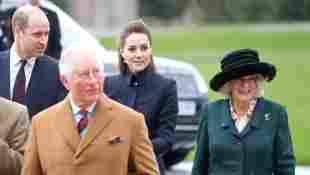 Prince William, Duchess Catherine, Prince Charles, and Duchess Camilla