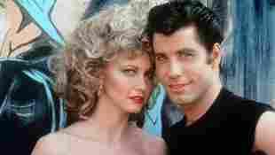 Olivia Newton-John y John Travolta en una imagen promocional de la película 'Vaselina'