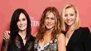 Courteney Cox, Jennifer Aniston and Lisa Kudrow