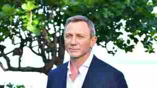 """Daniel Craig attends the """"Bond 25"""" film launch at Ian Fleming's Home 'GoldenEye' on April 25, 2019 in Montego Bay, Jamaica"""