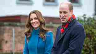 Duchess Kate And Prince William Make A Festive School Visit