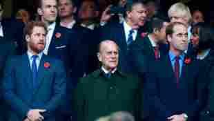 Príncipe Harry, el príncipe Felipe y el príncipe William