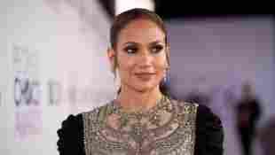 Jennifer López en una premiación