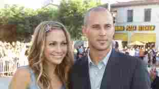 Jennifer Lopez y Cris Judd en el estreno de 'America's Sweethearts' de 2001