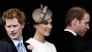 El príncipe Harry, Kate Middleton y el príncipe William