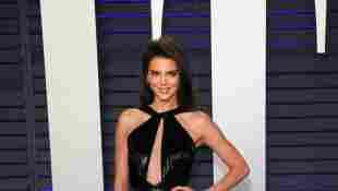 Kendall Jenner a su arribo para la fiesta de los Premios Óscar de Vanity Fair el 24 de febrero de 2019