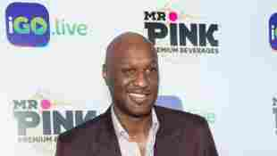Lamar Odom arrives for the iGo.live Launch Event at the Beverly Wilshire Four Seasons Hotel on July 26, 2017 in Beverly Hills, California