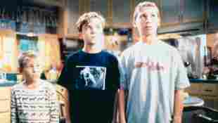 'MALCOLM IN THE MIDDLE', Erik Per Sullivan, Frankie Muniz, Justin Berfield, Season 1.