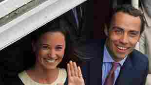 Pippa Middleton and James Middleton in 2012.