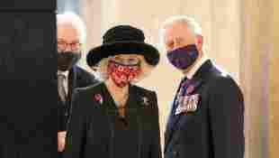 Prince Charles And Camilla Visit German War Memorial