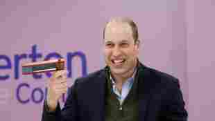 Prince William in Everton for the community.