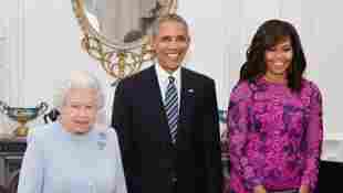 Queen Elizabeth and Michelle Obama Share 'Instant Warmth' as they break royal protocol