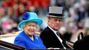 Reina Isabel y el príncipe Felipe