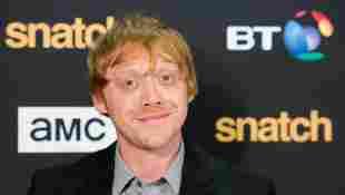 Rupert Grint snatch red carpet