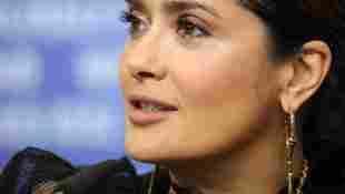 Salma Hayek sube selfies sin maquillaje