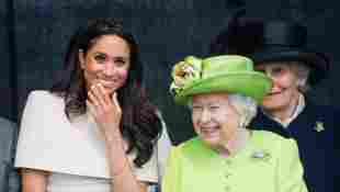 Meghan, Duchess of Sussex and Queen Elizabeth II open the new Mersey Gateway Bridge