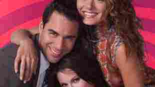 Sean Hayes, Eric McCormack, Debra Messing y Megan Mullally en una imagen promocional de la serie 'Will & Grace'