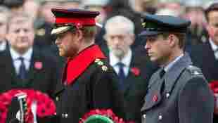 El príncipe Harry y el príncipe William