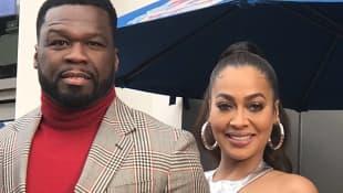 50 Cent and La La Anthony