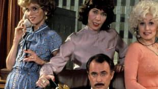 Dolly Parton, Jane Fonda, Lily Tomlin and Dabney Coleman