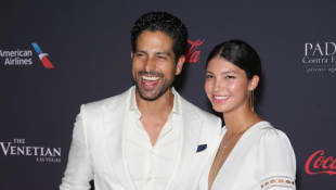 Adam Rodriguez and his beautiful wife Grace Gail