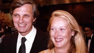 Alan Alda and Meryl Streep