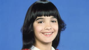 """Danielle Brisebois as """"Stephanie Mills"""""""