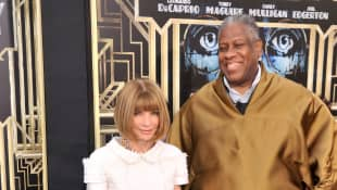 André Leon Talley and Anna Wintour