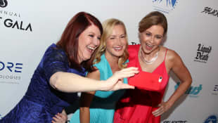 Kate Flannery, Angela Kinsey y Jenna Fischer