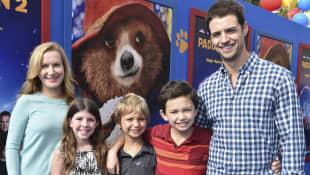Angela Kinsey, Joshua Snyder y familia