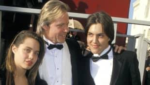 Angelina Jolie, Jon Voight und James Haven Voight