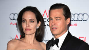 Angelina Jolie y Bradd Pitt