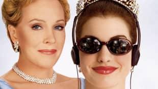 Anne Hathaway y Julie Andrews 'El diario de la princesa'
