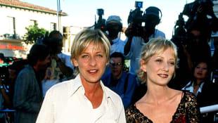 Anne Heche and Ellen DeGeneres