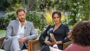 'Oprah with Meghan and Harry'