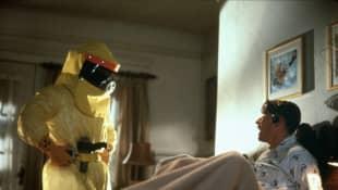 Michael J. Fox y Crispin Glover