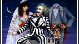 Beetlejuice film poster 1988