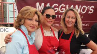 Angélica María, Angélica Vale y Erin Murphy