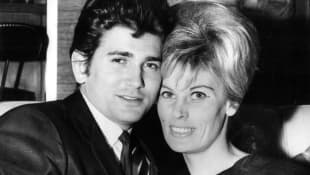 Michael Landon and Lynn Noe